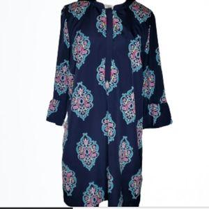 Crown & Ivy Bell Sleeve Shirt Dress Size 16